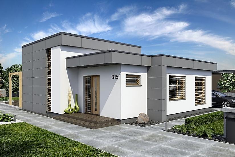 Projekt bungalovu Linear 315 obr.621