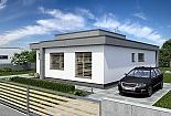 Projekt bungalovu Linear 315 obr.622