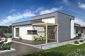 Projekt bungalovu - Linear 315