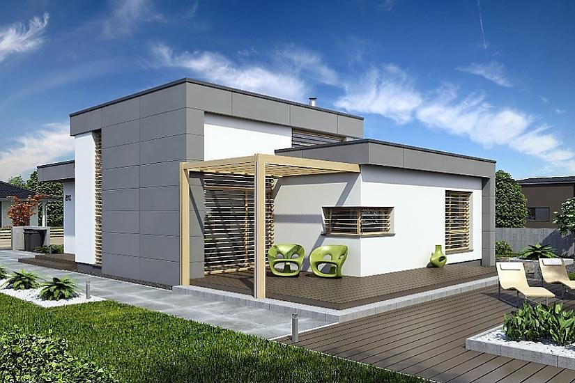 Projekt bungalovu Linear 315 obr.624