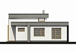 Projekt bungalovu Linear 315 obr.625