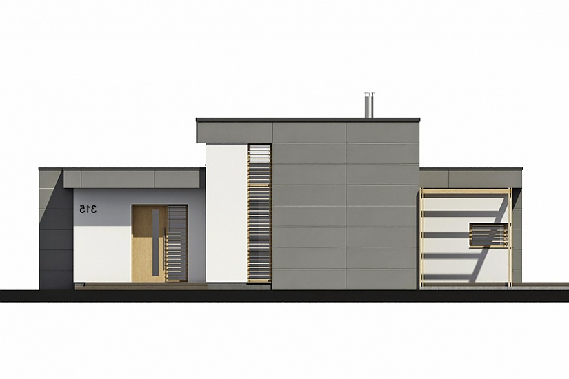 Projekt bungalovu Linear 315 obr.964