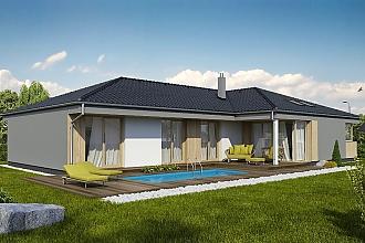 Projekt bungalovu - Laguna 442