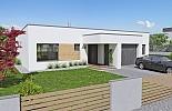 Projekt bungalovu Linear 330 obr.41