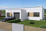 Projekt bungalovu Linear 330 obr.42