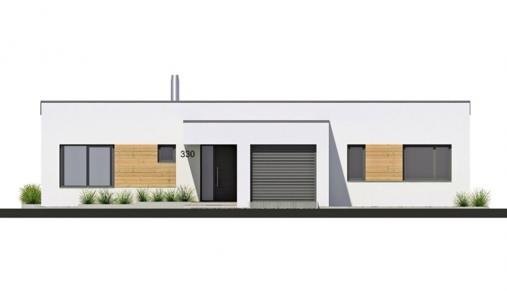 Projekt bungalovu Linear 330 obr.43
