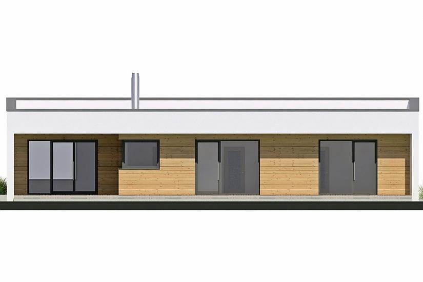 Projekt bungalovu Linear 330 obr.45