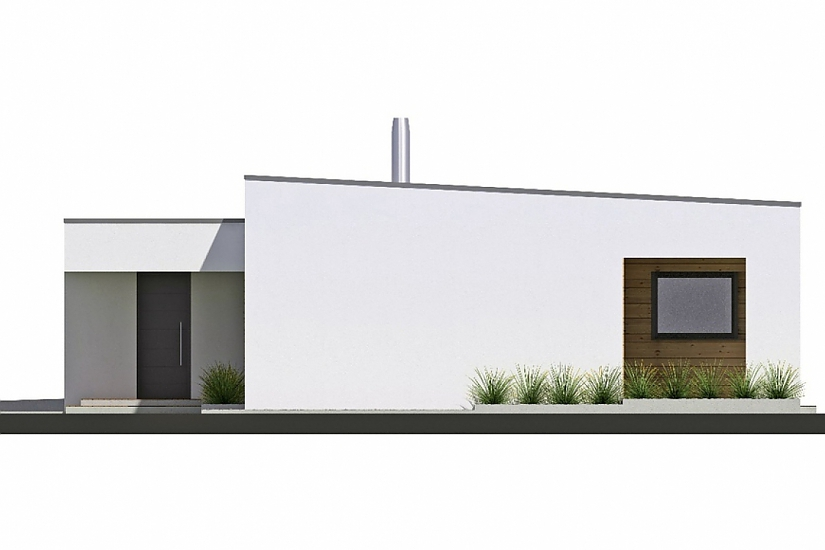 Projekt bungalovu Linear 330 obr.46