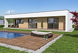 Projekt bungalovu Linear 330 obr.47