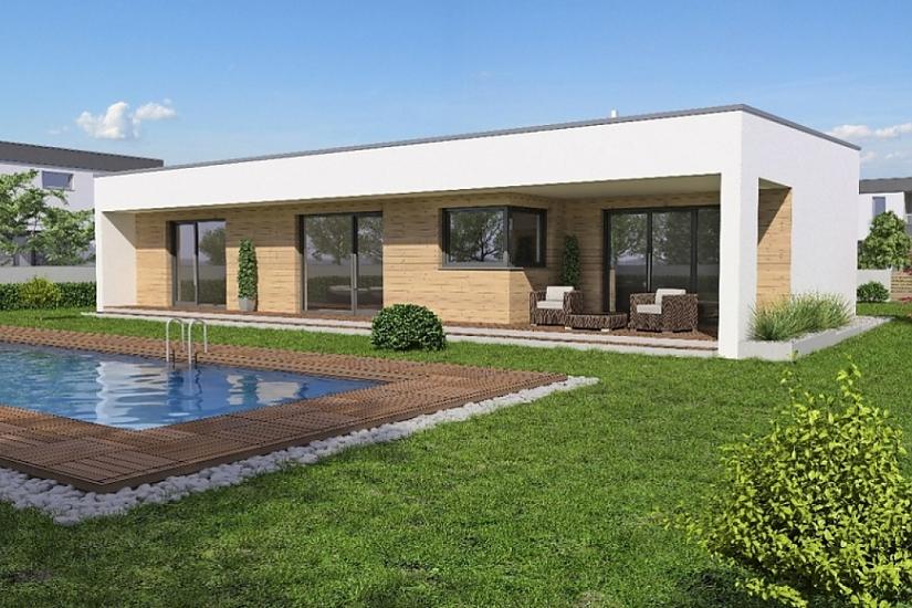 Projekt bungalovu Linear 330 obr.997