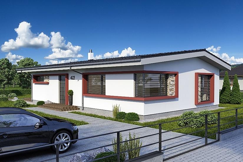Projekt bungalovu Laguna 422 obr.639