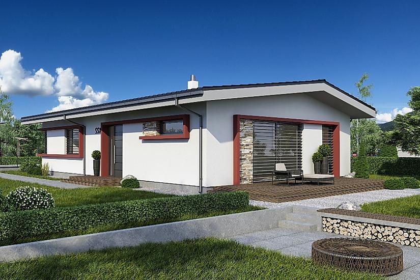 Projekt bungalovu Laguna 422 obr.642