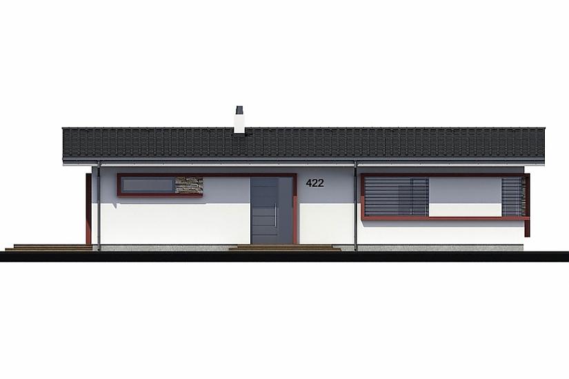 Projekt bungalovu Laguna 422 obr.646