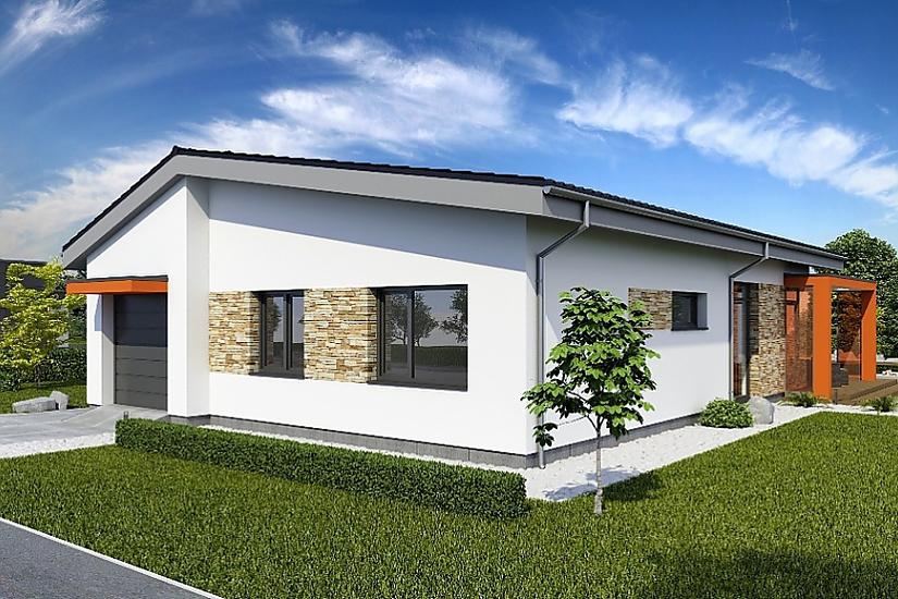 Projekt bungalovu Laguna 433 obr.657