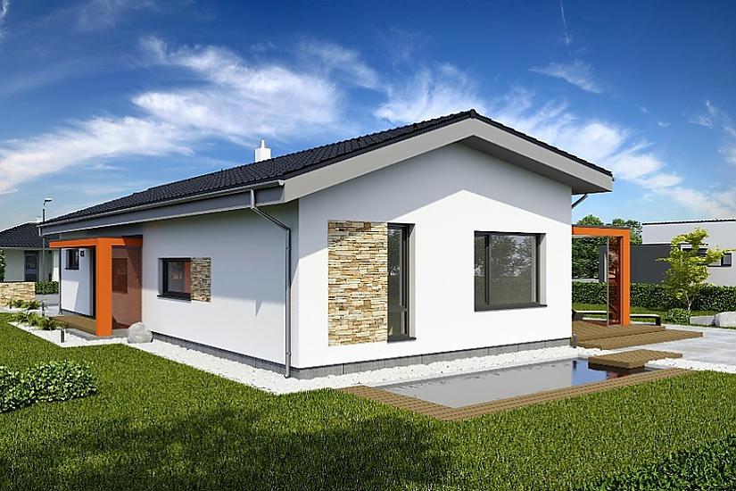 Projekt bungalovu Laguna 433 obr.659