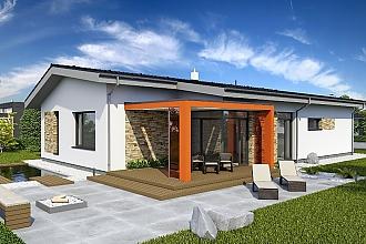 Projekt bungalovu - Laguna 433