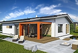 Projekt bungalovu Laguna 433 obr.660