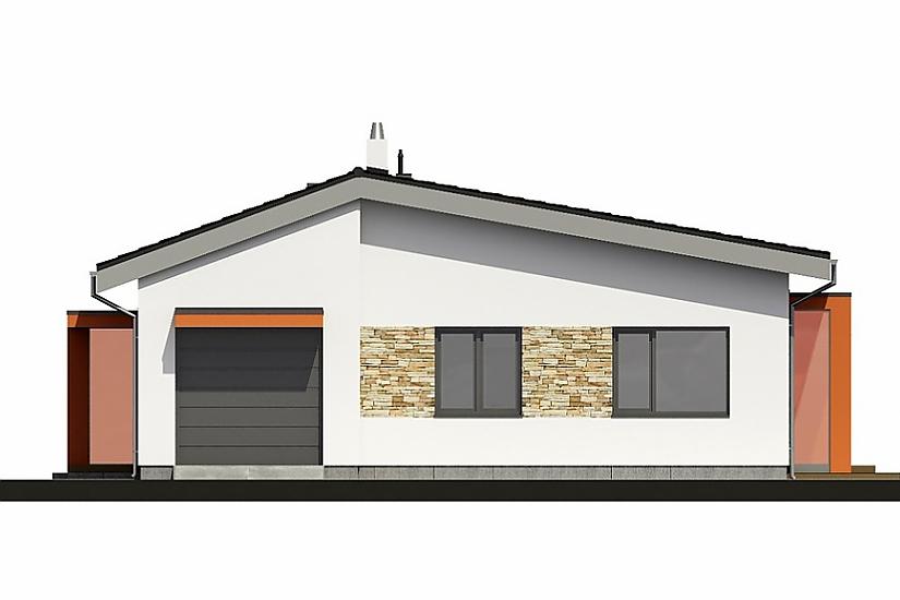 Projekt bungalovu Laguna 433 obr.661