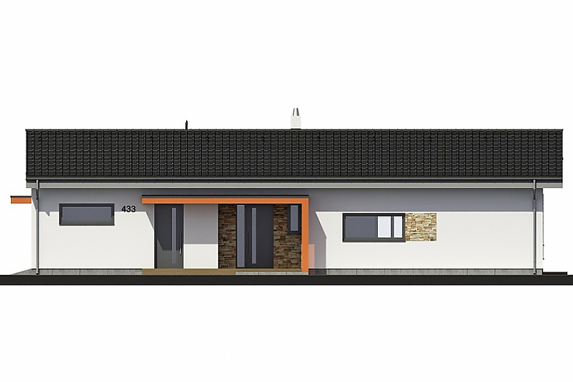 Projekt bungalovu Laguna 433 obr.662