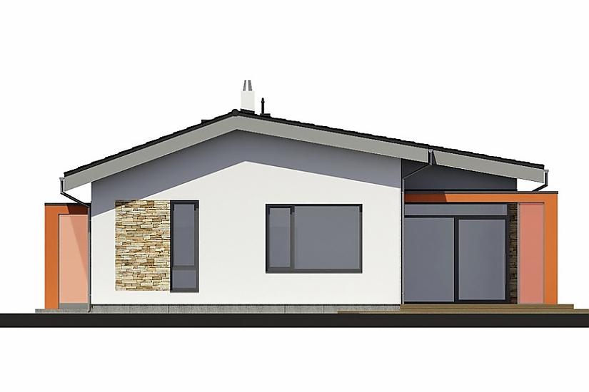 Projekt bungalovu Laguna 433 obr.663