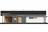 Projekt bungalovu Laguna 433 obr.664