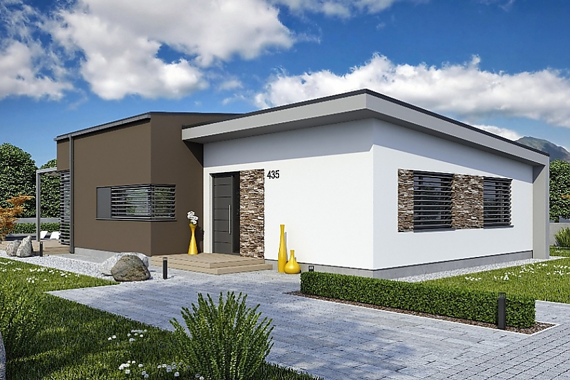 Projekt bungalovu Laguna 435 obr.666