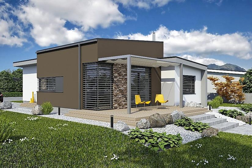 Projekt bungalovu Laguna 435 obr.669