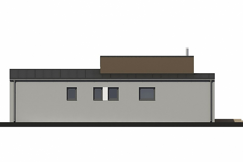 Projekt bungalovu Laguna 435 obr.671