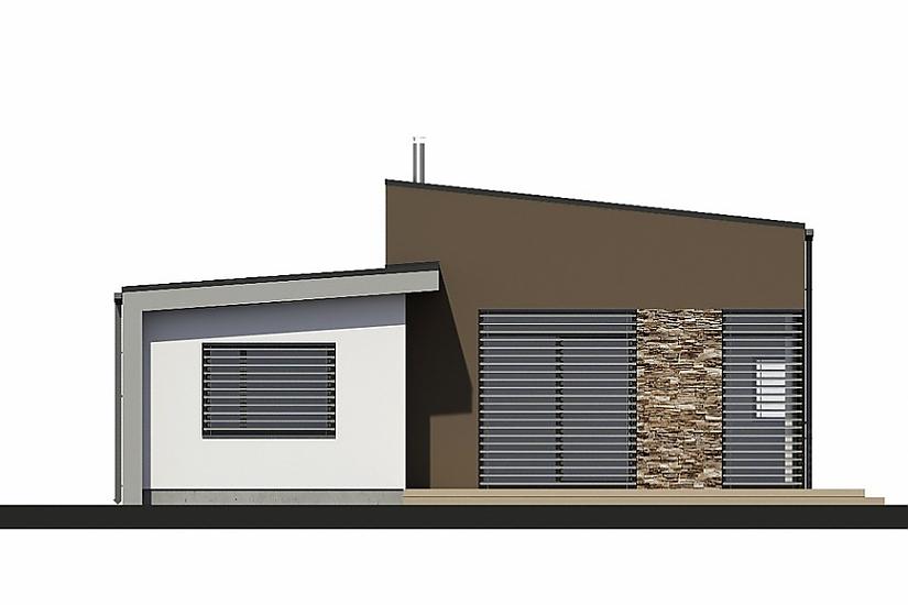 Projekt bungalovu Laguna 435 obr.672