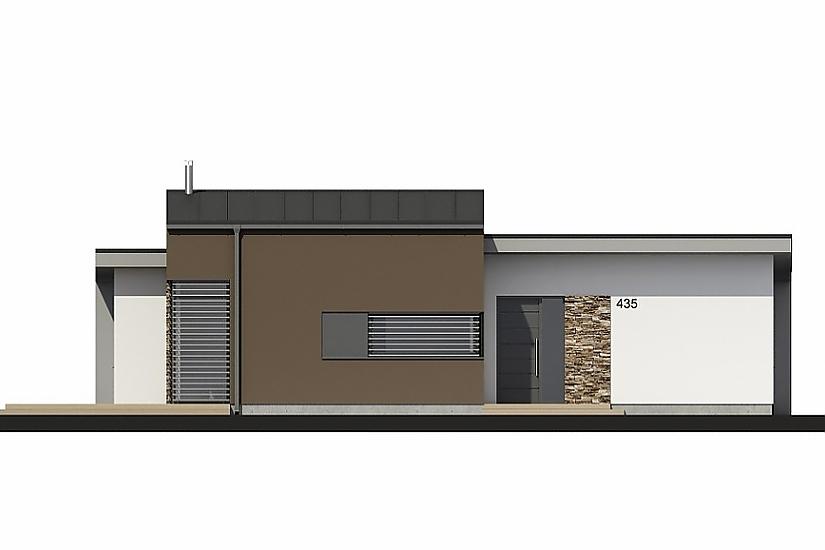 Projekt bungalovu Laguna 435 obr.673
