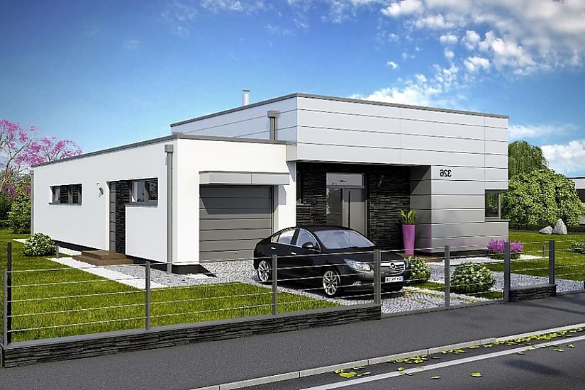 Projekt bungalovu Linear 326 obr.732