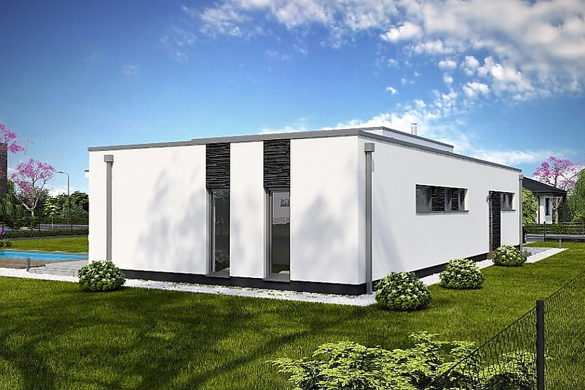 Projekt bungalovu Linear 326 obr.733