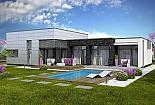 Projekt bungalovu Linear 326 obr.734