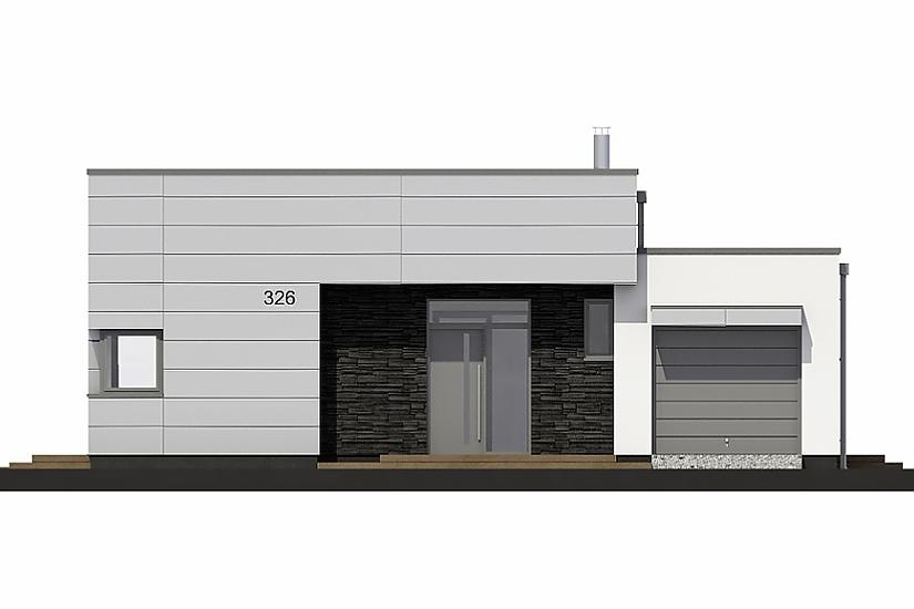 Projekt bungalovu Linear 326 obr.735