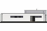 Projekt bungalovu Linear 326 obr.736