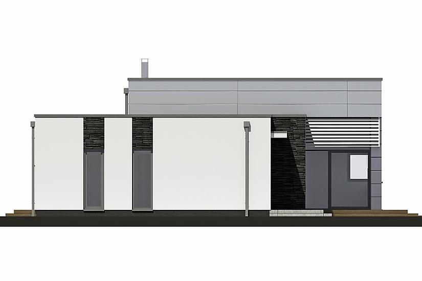 Projekt bungalovu Linear 326 obr.737