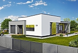 Projekt bungalovu Linear 328 obr.741