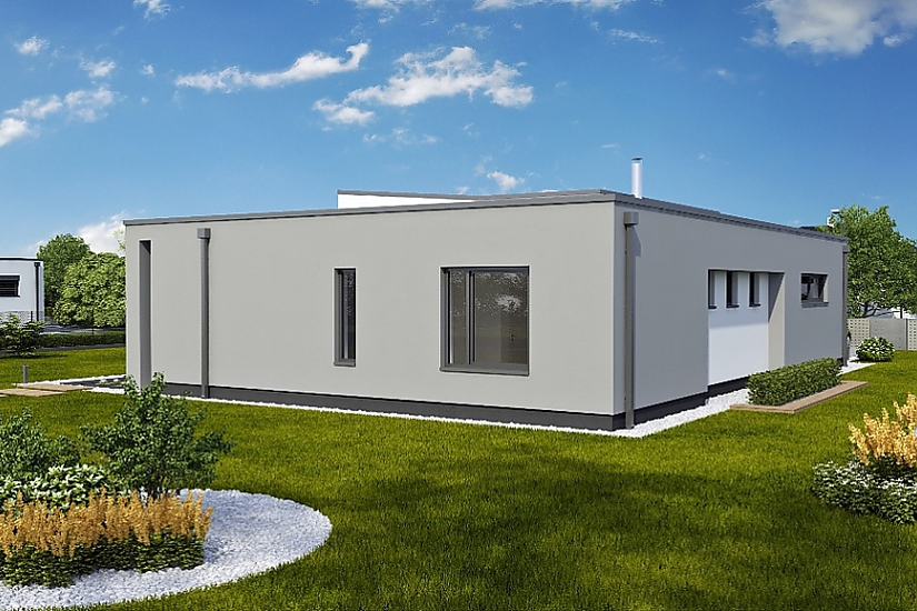 Projekt bungalovu Linear 328 obr.743