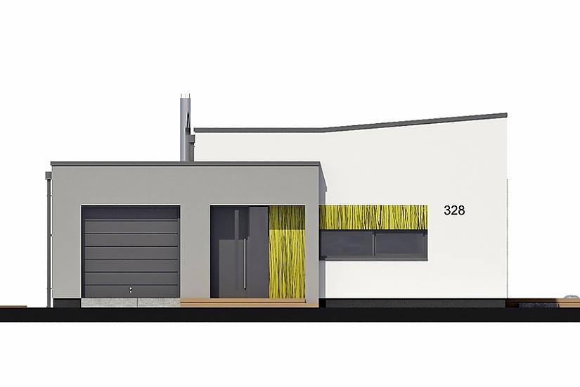 Projekt bungalovu Linear 328 obr.744