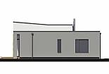 Projekt bungalovu Linear 328 obr.746