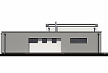 Projekt bungalovu Linear 328 obr.747