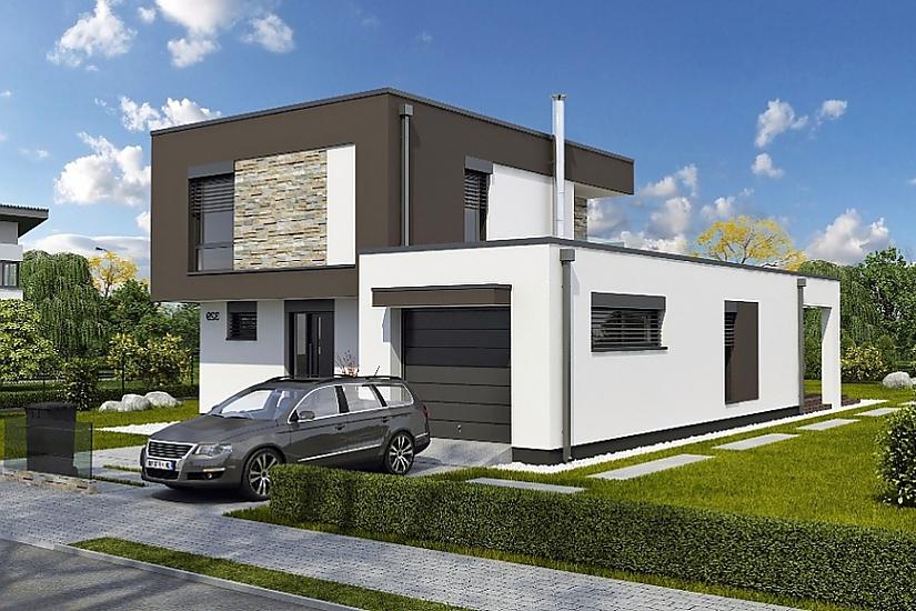 Projekt rodinného domu Linear 329 obr.748