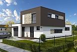 Projekt rodinného domu Linear 329 obr.749