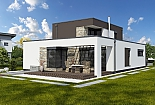 Projekt rodinného domu Linear 329 obr.751