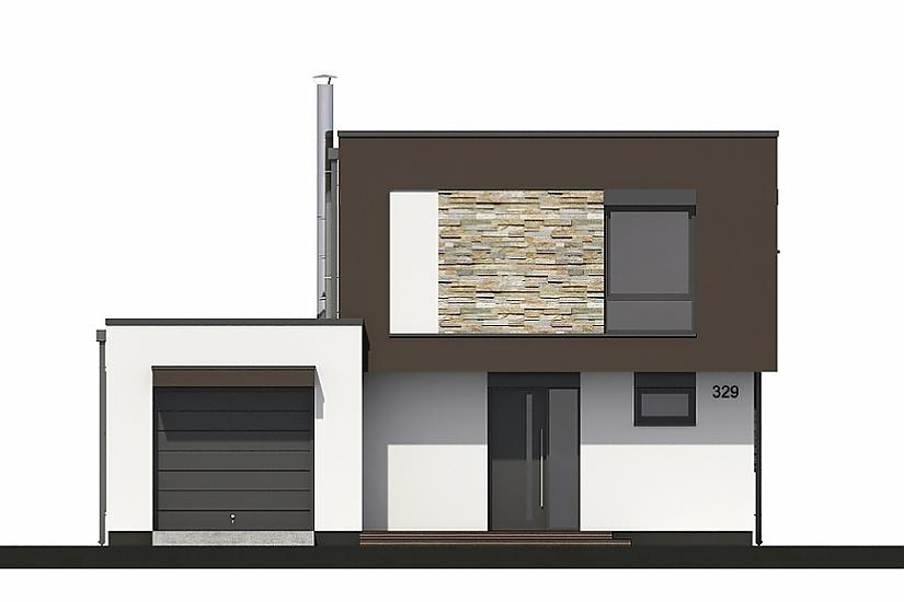 Projekt rodinného domu Linear 329 obr.752