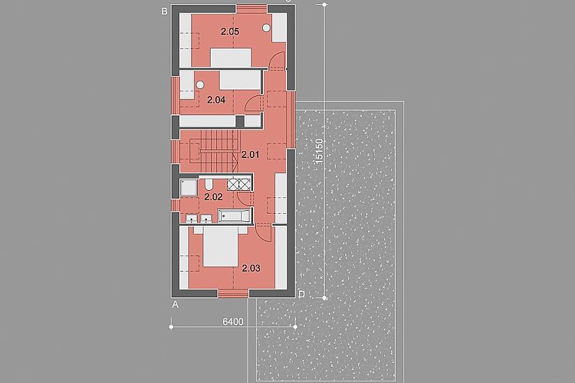 Projekt rodinného domu Master obr.897